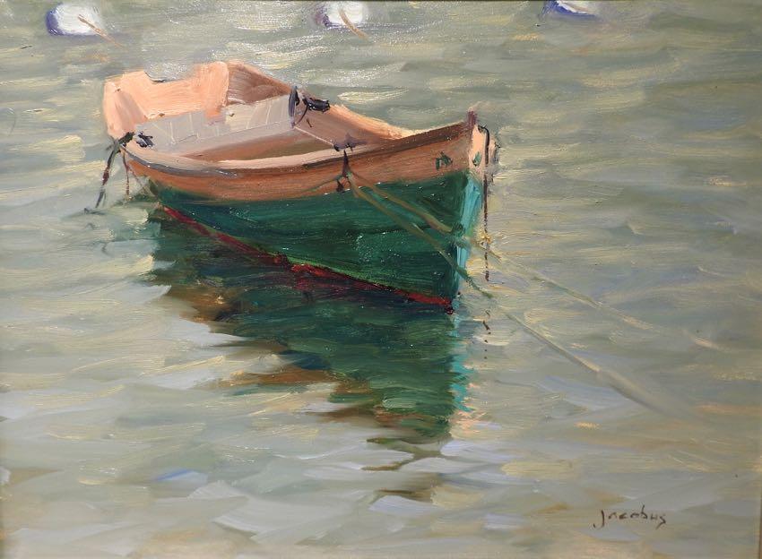 Boat At Morning Light