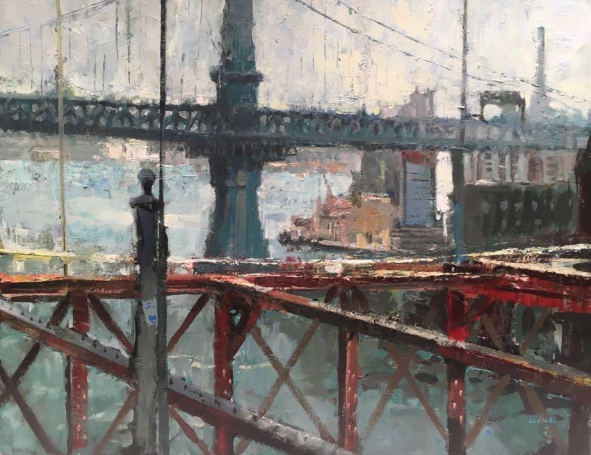 Manhattan Bridge by Dan LaVigne