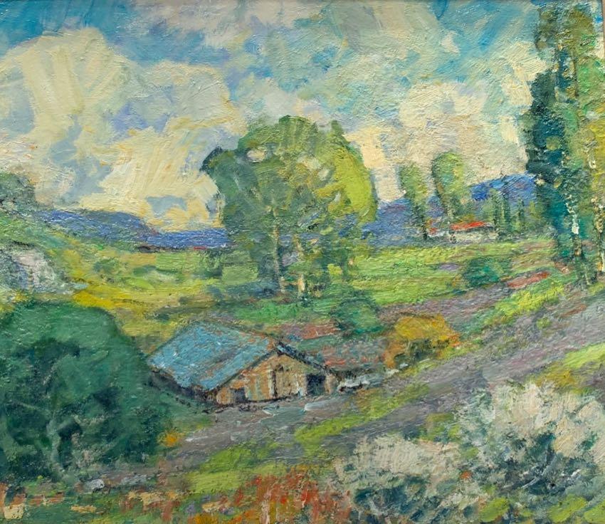 Old Barn On 46