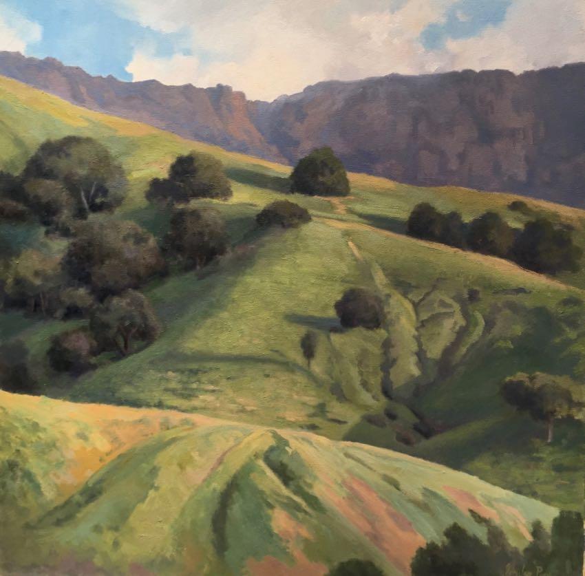 The Velvet Green Hills