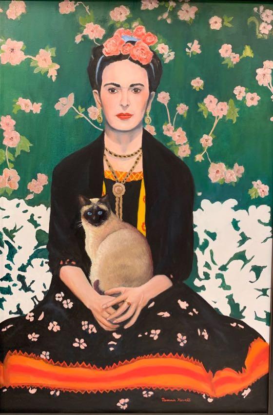 Frida Dennis Newell 24x36 oil