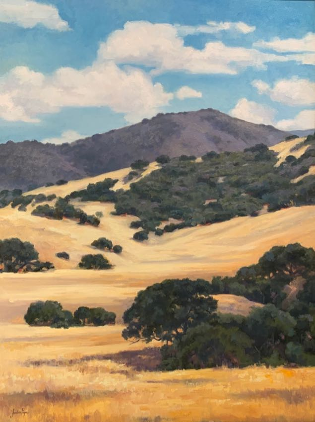 Summer Hills Jordan Pope 40x30 oil sold