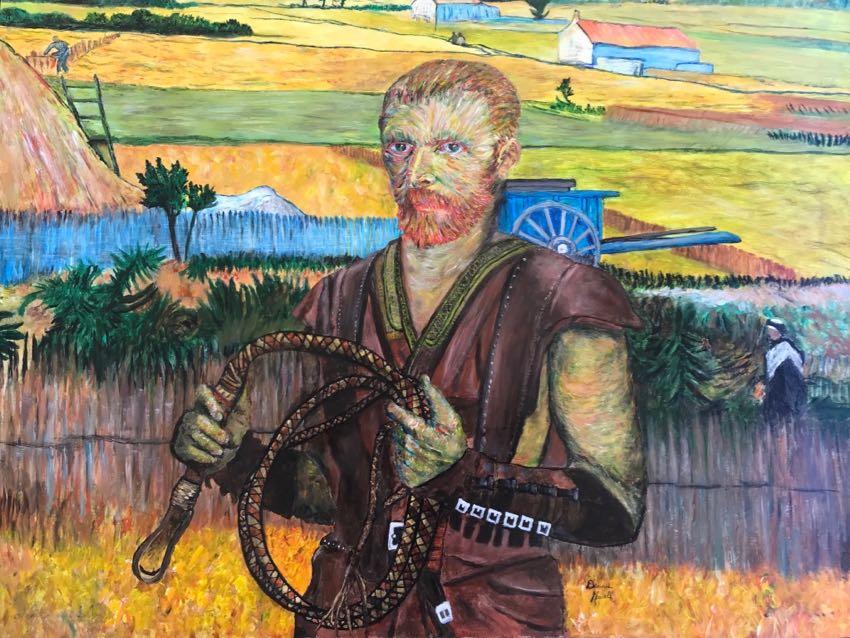 Van Gogh Gladiator Dennis Newell 30x40 oil