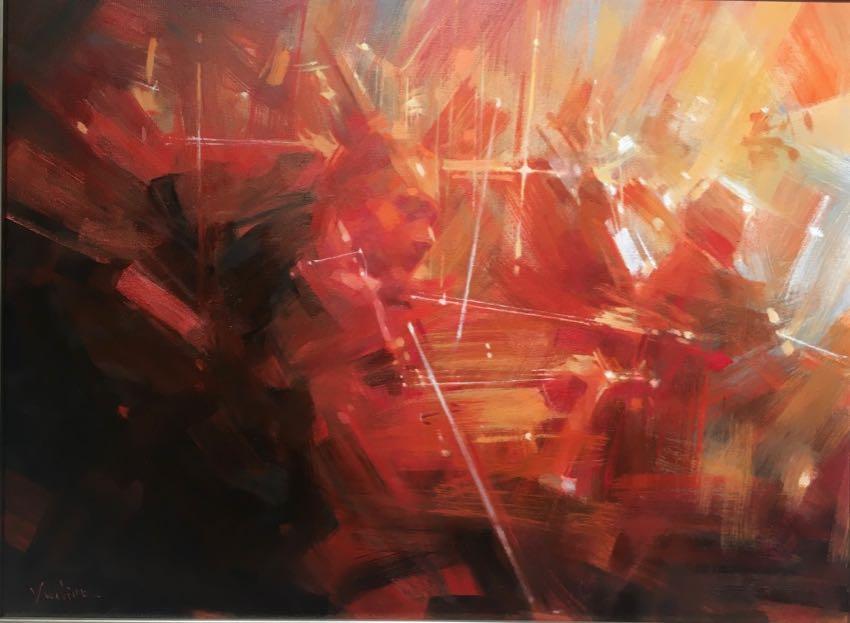 Violin Concerto Vadim Zang 18x24 oil