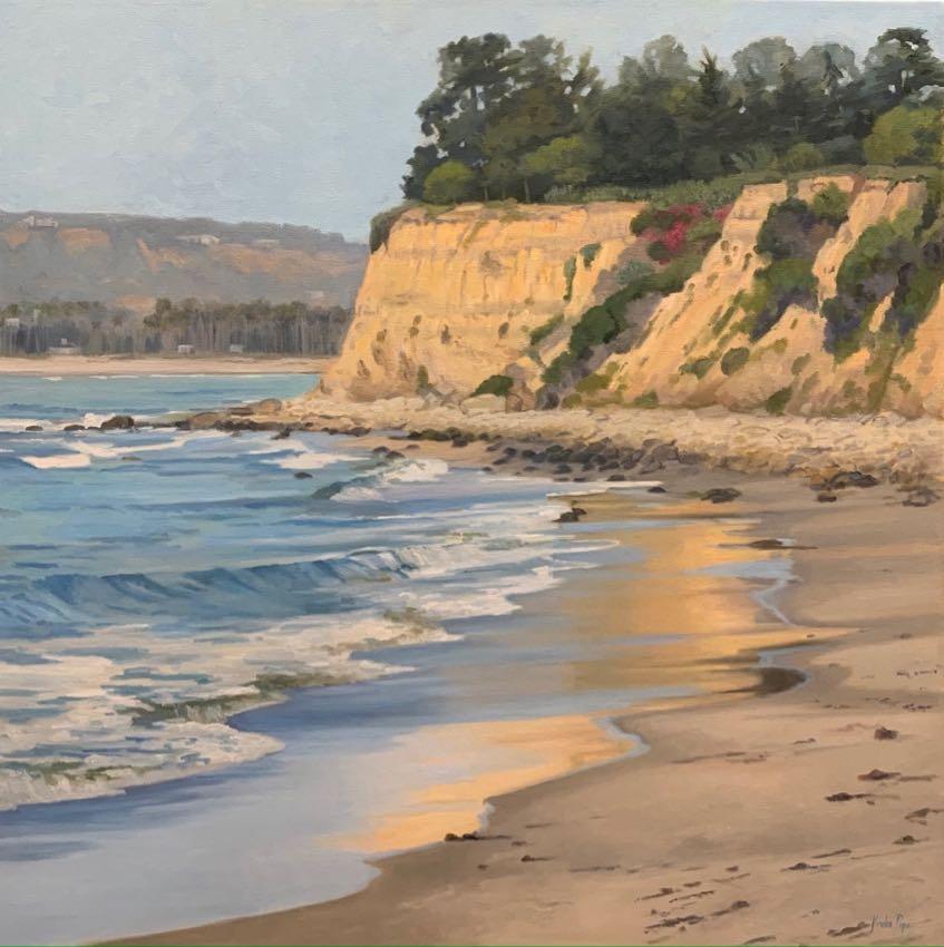 """Beauiful Butterfly Beach 48"""" x 48"""" Jordan Pope"""