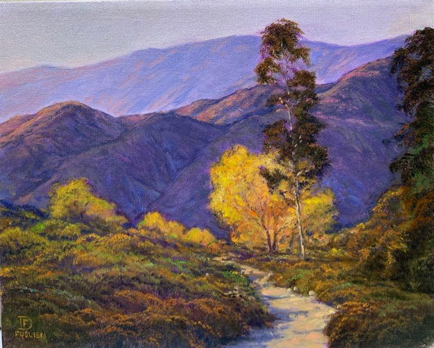 Big Tujunga Canyon 8x10 Foslien