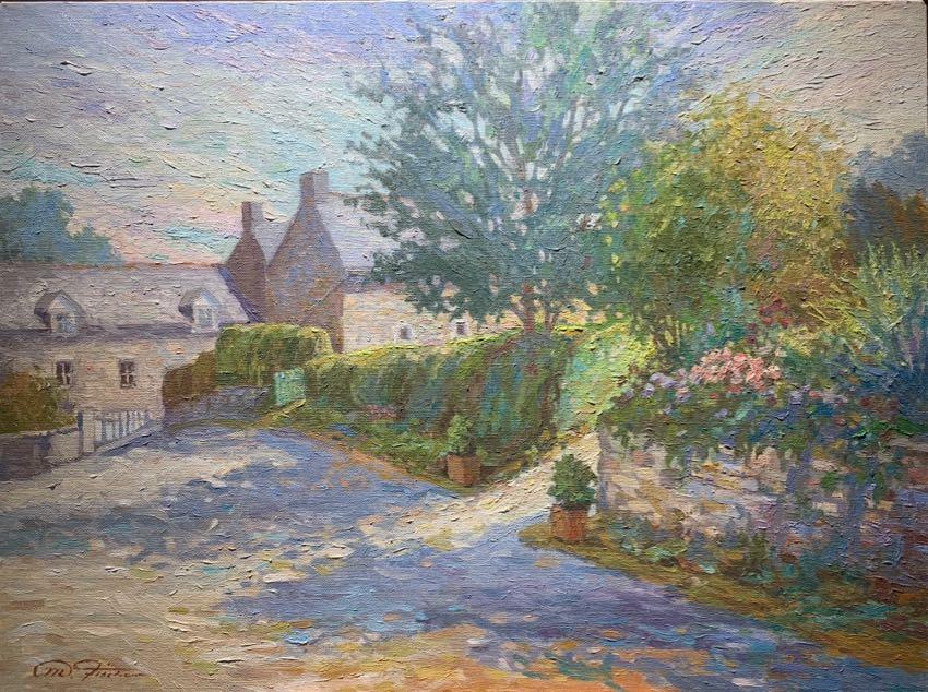 La Fontaine 20x24 Fischer