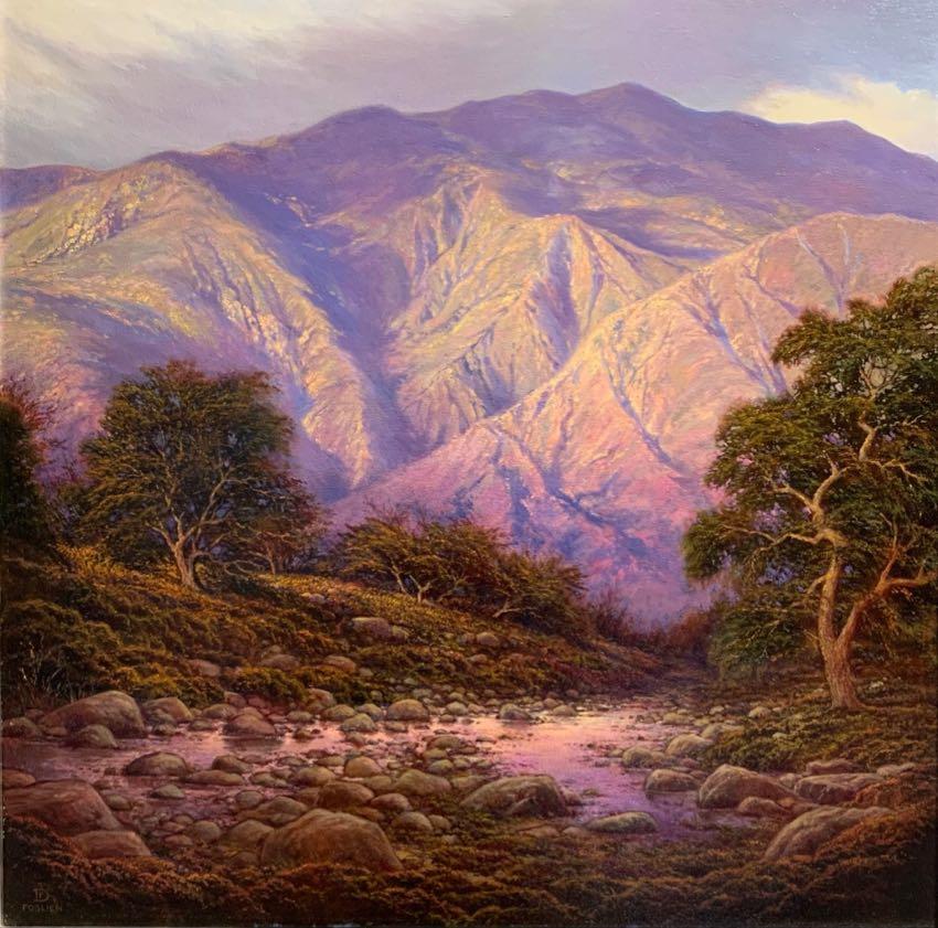 San Gabriel Mountains 30x30 Dirk Foslien