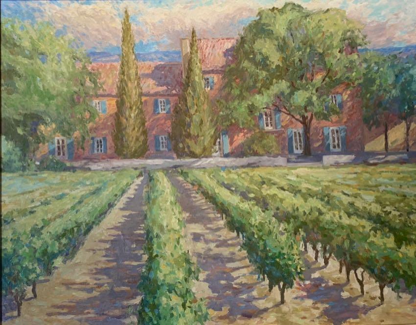 Vineyard in Provence 24x30 Fischer