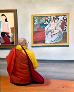 Matisse and the Monk(SOLD)