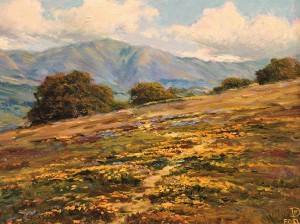 Santa Ynez Valley Poppies (SOLD)