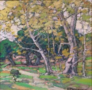 Sycamores and Oaks (SOLD)