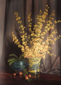 Yellow Orchids (SOLD)