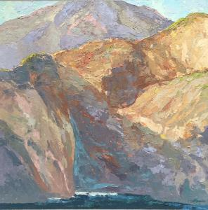 Coastal Cliff 1 (SOLD)