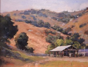 Hay Barn In The HIlls