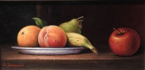 Fruit On A Plate (SOLD)