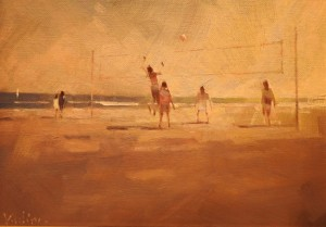 Beach Volley Ball (SOLD)